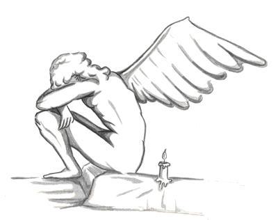petit ange et la bougie